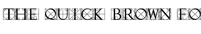 Preview of TypographerCaps Regular