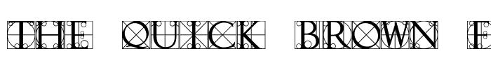Preview of TypographerCapsSSK Regular