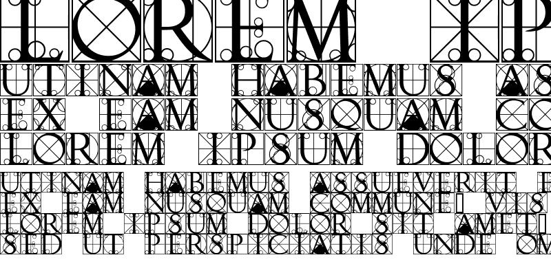 Sample of TypographerCapsSSK Regular