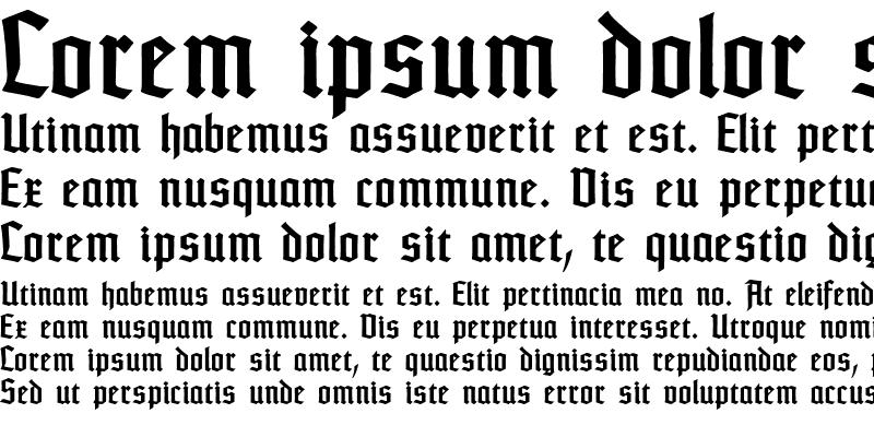 Sample of TypographerTextur