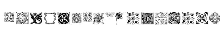Preview of TypoOrnaments Regular