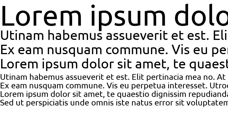 Sample of Ubuntu Regular