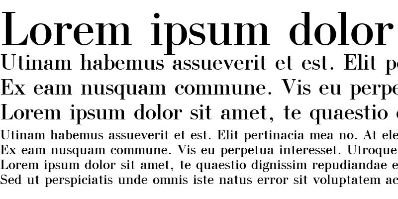 Sample of Uk_Bodoni