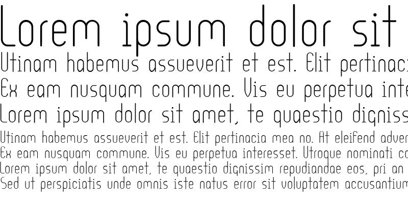 Sample of Ultura Medium
