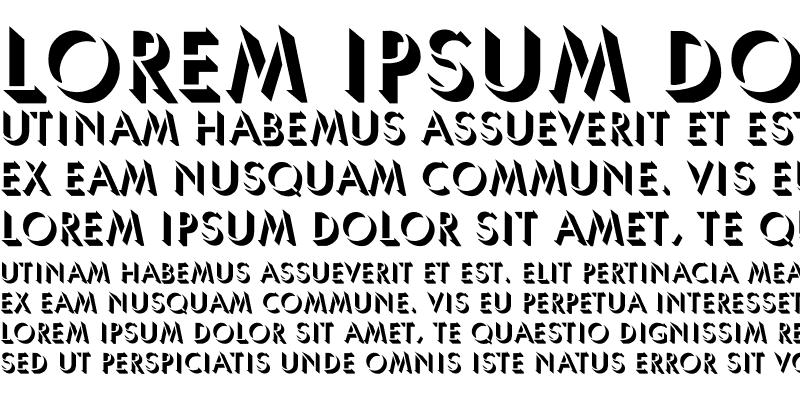 Sample of Umbra-Normal Regular