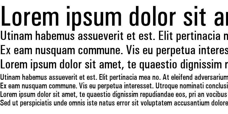 Sample of Univers Condensed Medium