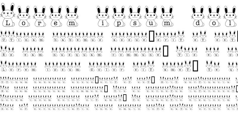 Sample of usagi