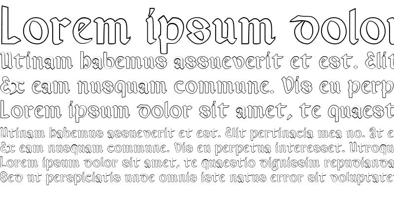 Sample of Valerius Outline