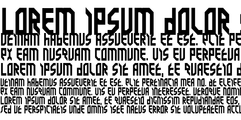 Sample of Valkyrie Bold Bold