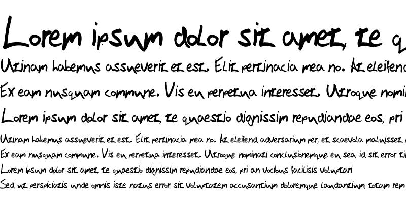 Sample of Victor Handwriting