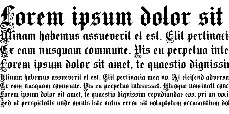 Sample of Victorian Text