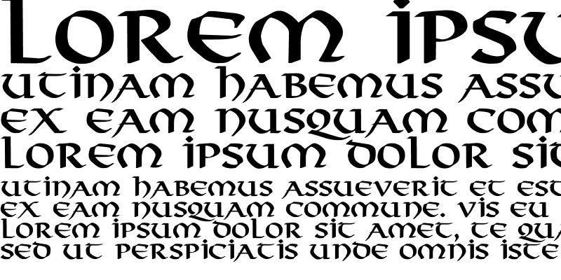Sample of Viking-Normal Bold