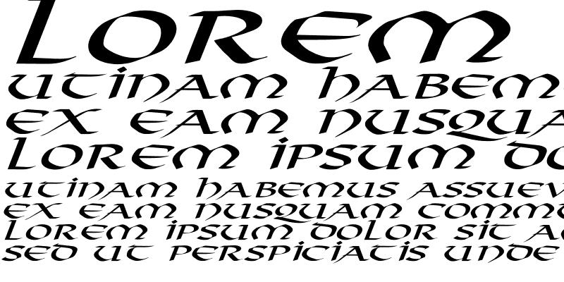 Sample of Viking-Normal Ex Italic