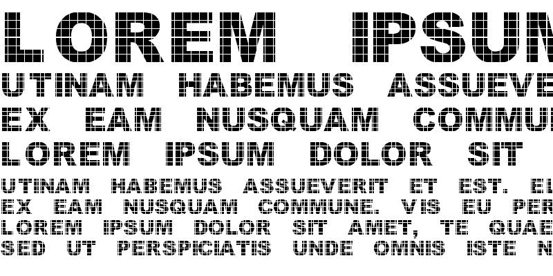 Sample of Vinyl Tile Regular
