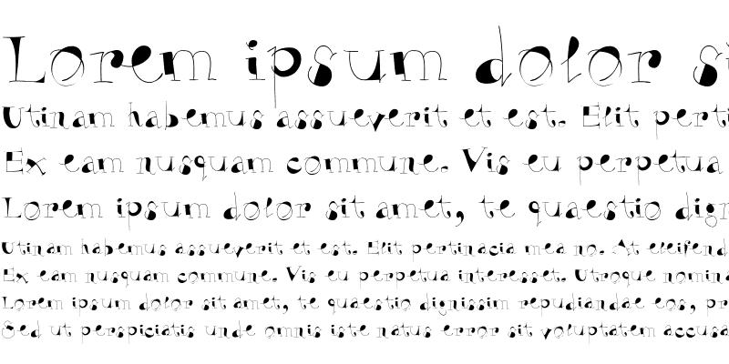 Sample of VivaBodoni Regular