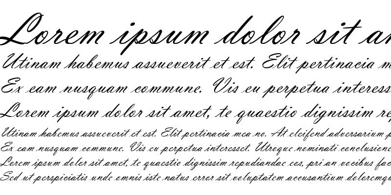 Sample of Vladimir Script D