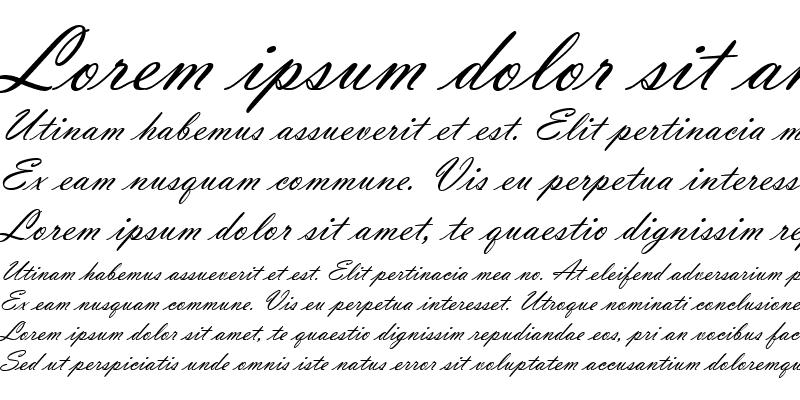 Sample of Vladimir Script
