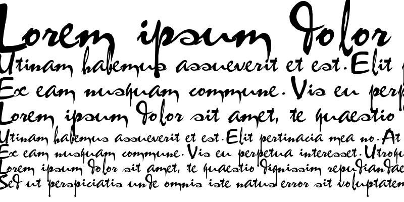Sample of VNI-Thufap1 Regular