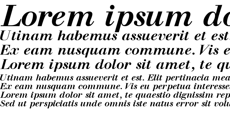 Sample of WalbaumOSSSK Bold