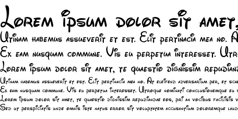 Sample of Walt Disney Script