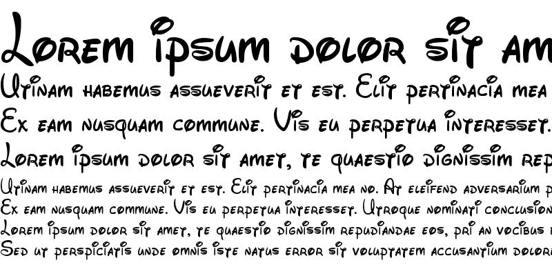 Sample of Walt Disney Script v4.1