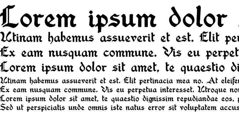 Sample of Washington Text
