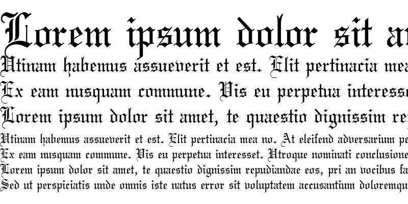 Sample of Wedding Text Regular