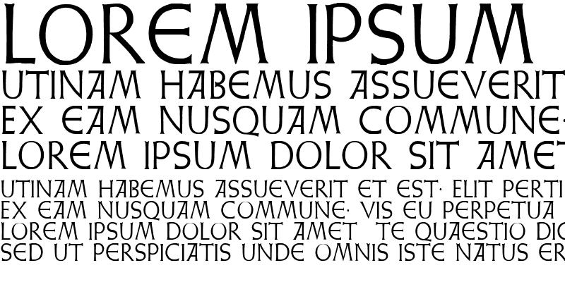 Sample of Weiss Lapidar Regular