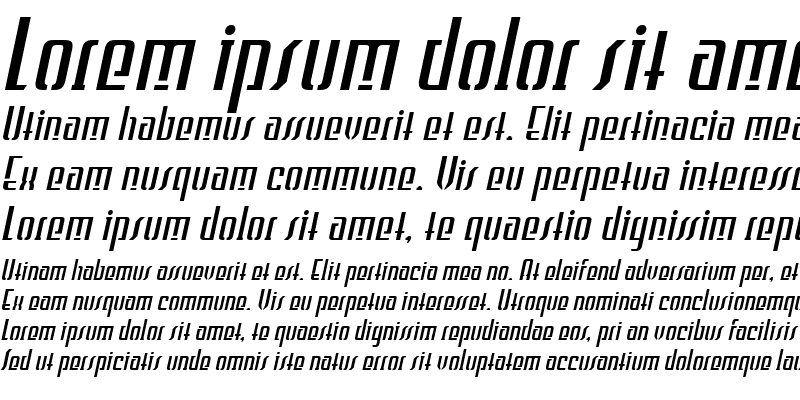Sample of WILD1 Firstvision Tekkst Bold Italic