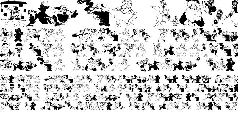 Sample of XmasBatzz Regular