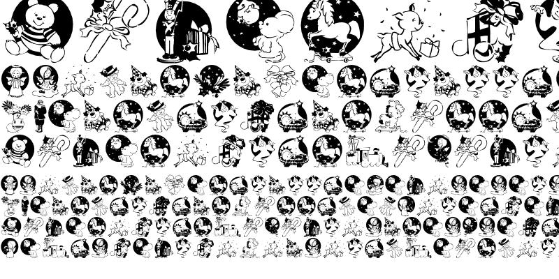 Sample of XmasPromotionsSymbols Regular