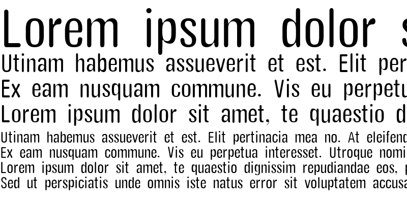 Sample of Yang Rounded Condensed light