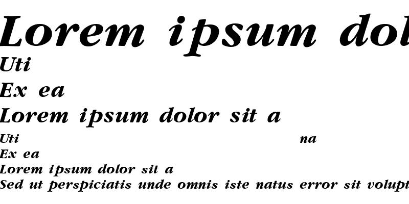 Sample of Yearlind-Thin-Italic