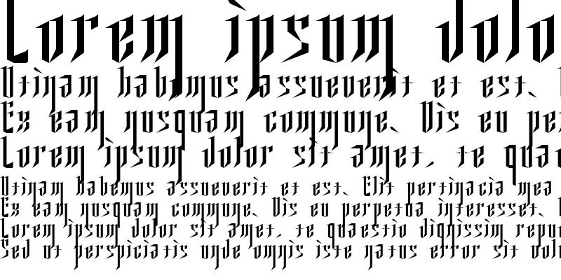 Sample of Ysgarth English