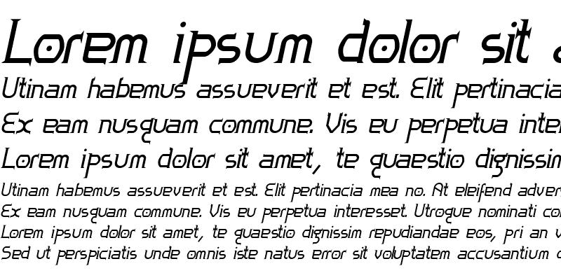 Sample of Zoloft BoldItalic